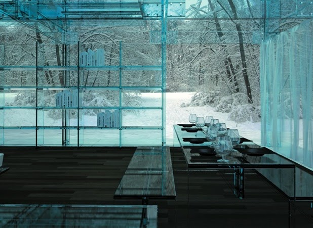 Santabrogiomilano Architects' Glass House Concepts: glass house by santambrogio architects 6[3].jpg